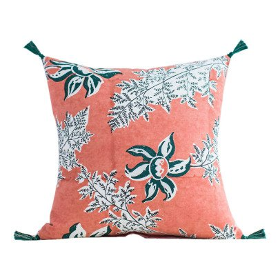 Jamini Devi Cotton Square Cushion with Removable Cover-product