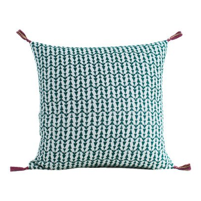 Jamini Ashu Cotton Square Cushion with Removable Cover-product