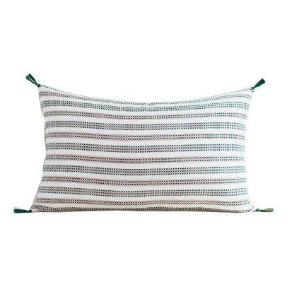 Jamini Amélie Cotton Rectangular Cushion with Removable Cover-product