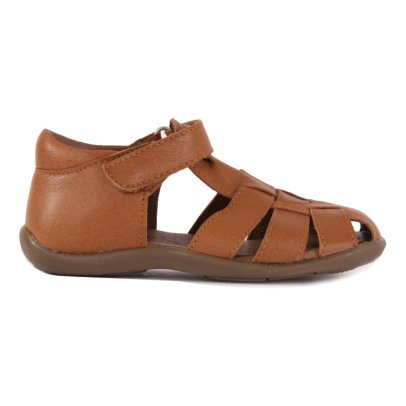 Petit Nord Starter Velcro Leather Sandals-listing