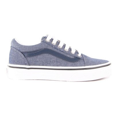 Vans Baskets à Lacets Chambray Old Skool-listing