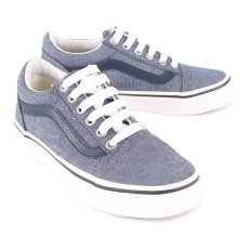 Vans Sneakers Lacci Chambray Old Skool-listing