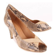 Sessun Pumps Python-Optik Tawa -listing