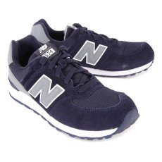 New Balance Sneakers Lacci Scamosciate KL574-listing