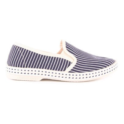 Rivieras Striped Denim Espadrilles-listing