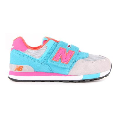 New Balance Sneakers Scamosciate e Mesh KV574-listing