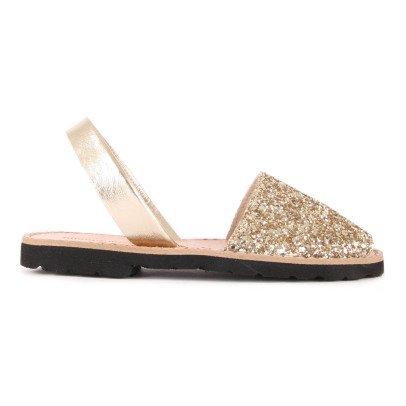 Minorquines Avarca Glitter Sandals-listing
