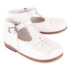 Little Mary Floriane Leather Mary Janes-listing