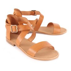 Anthology Paris Bento Leather Sandals-listing