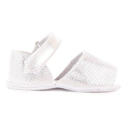 Minorquines Frailera Lizard Effect Velcro Sandals-listing
