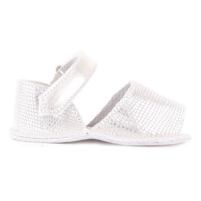 Minorquines Sandalias Velcro Efecto Lagarto Frailera-listing