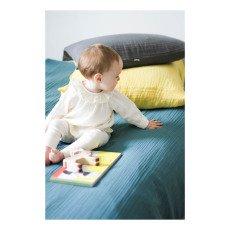 Poudre Organic Blouse Coton Bio Col Volants-listing