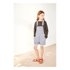 Polder Girl Bever Striped Dungarees-listing