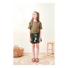 Polder Girl Bart Lurex Striped Blouse-listing