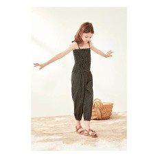 Polder Girl Barbara Lurex Smock Jumpsuit-listing