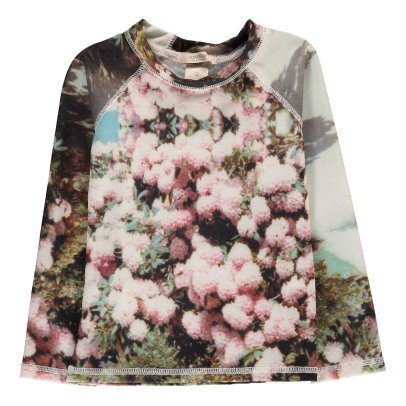 POPUPSHOP Flower UV Protective T-Shirt-listing