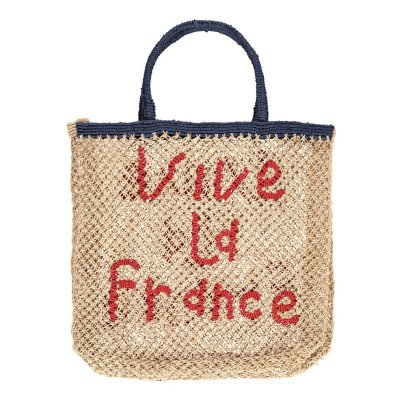 The Jacksons Sac Cabas Large Jute Vive la France-listing