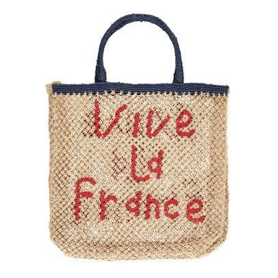 The Jacksons Vive la France Large Jute Shopper-listing