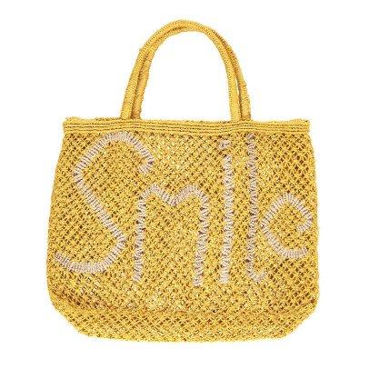 The Jacksons Smile Small Jute Shopper-listing