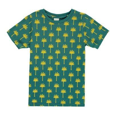 Scotch & Soda Palm Tree All Over T-Shirt-listing
