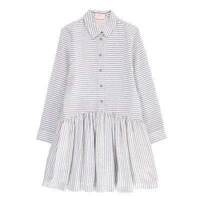 Cuisse de Grenouille Vestito Camicia Righe-listing