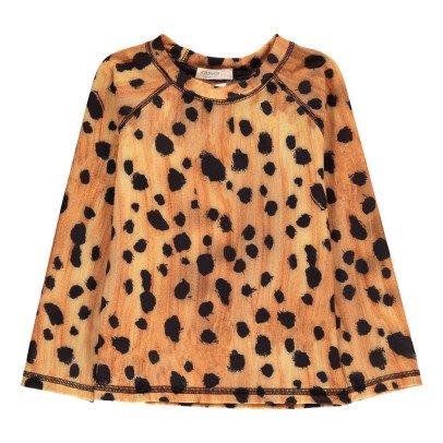 POPUPSHOP Leopard UV Protective T-Shirt-listing
