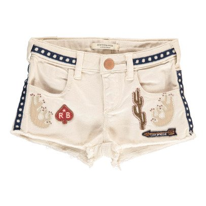 Scotch & Soda Short Vaquero Parches-listing