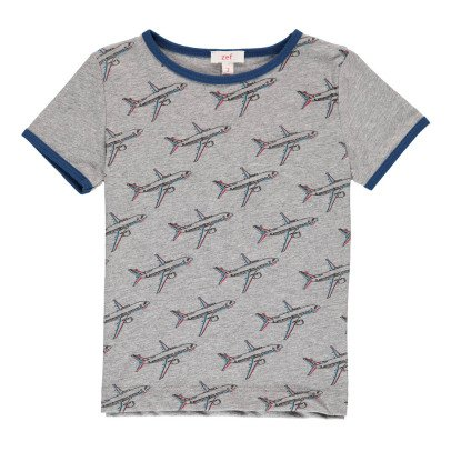 Zef T-Shirt Flugzeug -listing