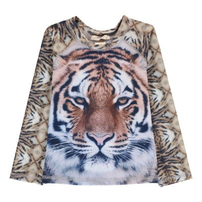 POPUPSHOP T-Shirt UV-Schutz Tiger -listing