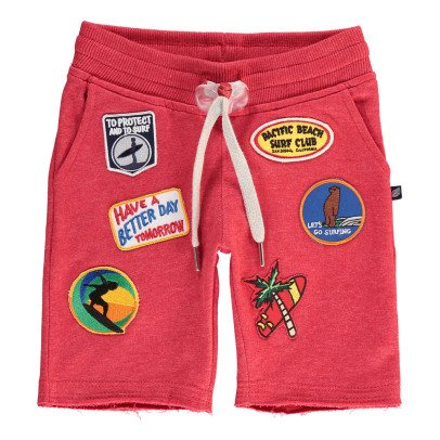 Sweet Pants Shorts Mollettone Chiné Patchs-listing
