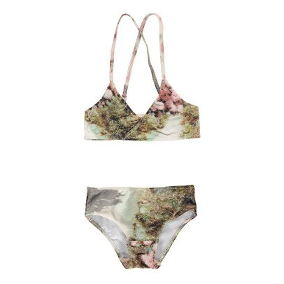POPUPSHOP Flower 2 Piece Swimsuit-listing
