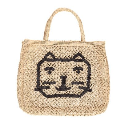The Jacksons Sac Cabas Small Jute Chat-listing