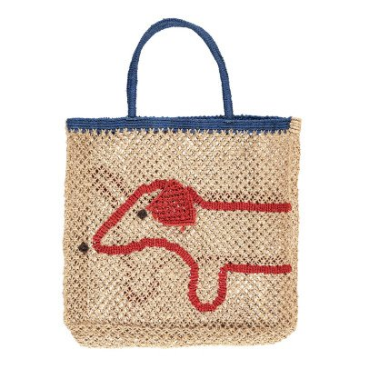 The Jacksons Dog Large Jute Shopper-listing