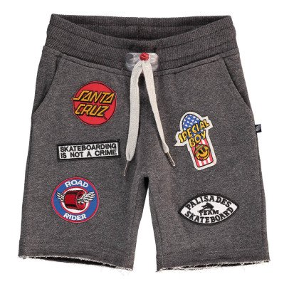 Sweet Pants Short Molleton Chiné Patchs-listing