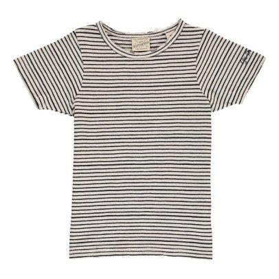 Scotch & Soda T-shirts Fines Rayures-listing