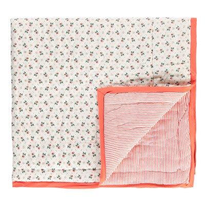 Le Petit Lucas du Tertre Reversible Flower Blanket-listing