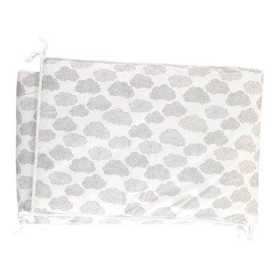 Moumout Clouds Cotton Bed Bumper-listing