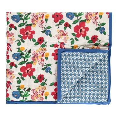 Le Petit Lucas du Tertre Reversible Hibiscus Blanket-listing