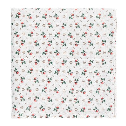 Le Petit Lucas du Tertre Flower Swaddling Blanket-listing