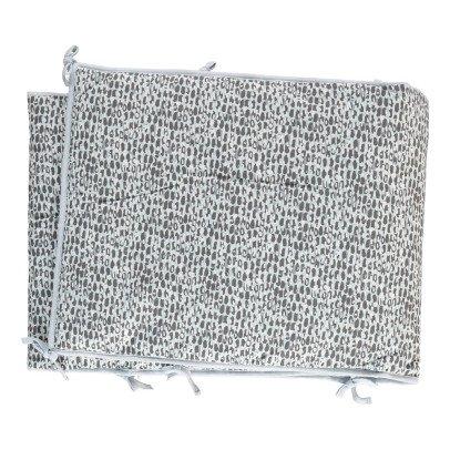 Moumout Dots Cotton Bed Bumper-listing