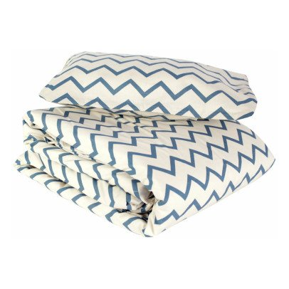Nobodinoz Toronto Zig Zag Cotton Bed Set-listing