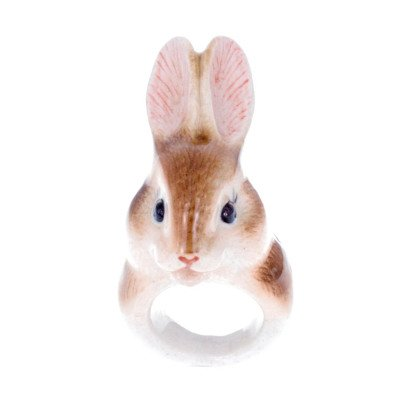 Nach Porcelain Rabbit Ring-listing