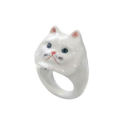 Nach Ring aus Porzellan Katze -listing