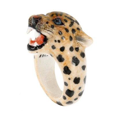 Nach Ring aus Porzellan Leopard -listing