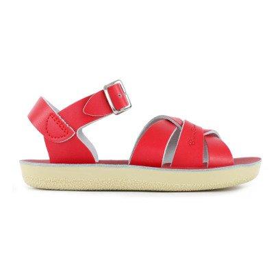 Salt-Water Swimmer Waterproof Leather Sandals-listing