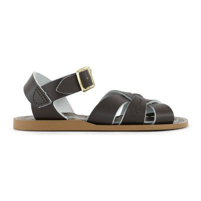 Salt-Water Original Waterproof Crossed Leather Sandals-listing