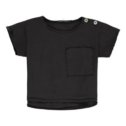 Album di famiglia T-Shirt Chaine et Trame Poche Emi-listing