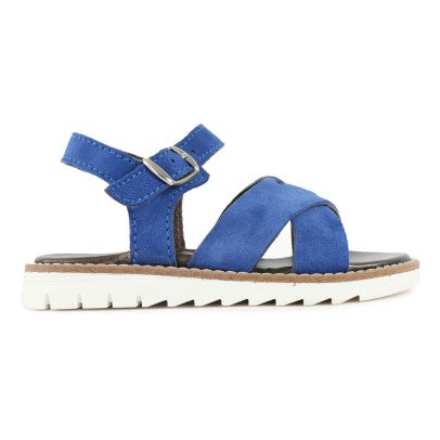 Pèpè Two Con Me Cross Strap Leather Sandals-listing