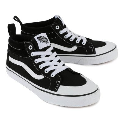 Vans Sneakers Scamosciate Lacci Racer Mid-listing