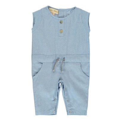 Lab - La Petite Collection Overall Chambray -listing